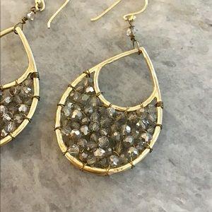 Anthropologie Jewelry - Anthropologie Teardrop Earrings